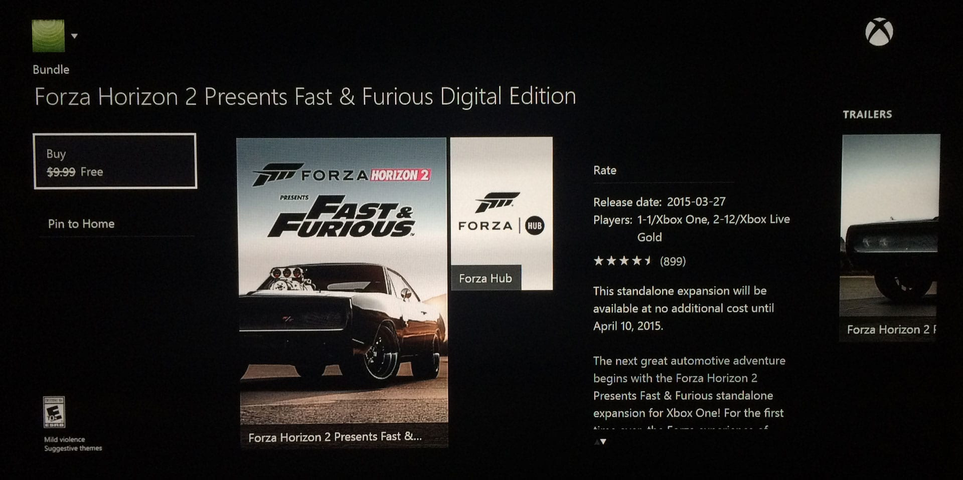 forza for windows 7