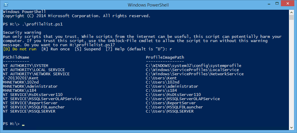 PowerShell - get user profile list with account name