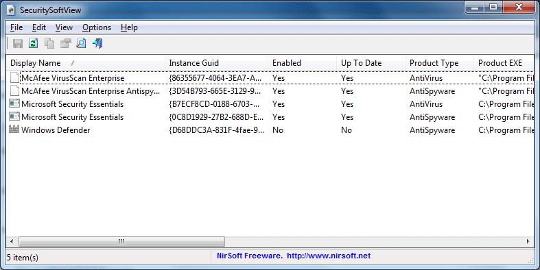 SecuritySoftView