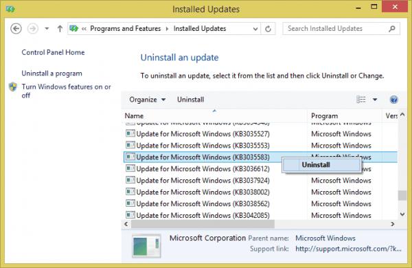 Installed Updates - 2015-06-10 00_03_54