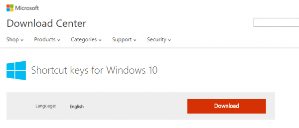 Download Shortcut keys for Windows 10 from Official Microsoft Download Center - 2015-08-30 00_50_21