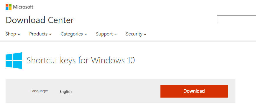 10 Keyboard Shortcut Keys Made Only for Windows 10 [Download] | Next of Windows