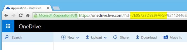 OneDrive - cid number