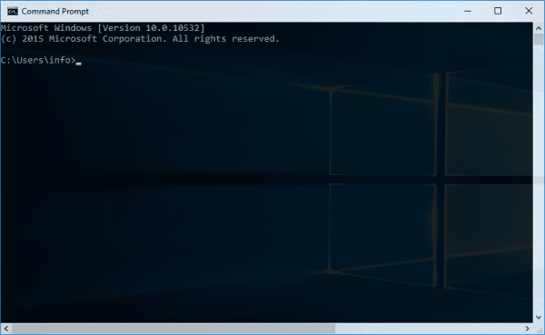 Command Prompt transparent window