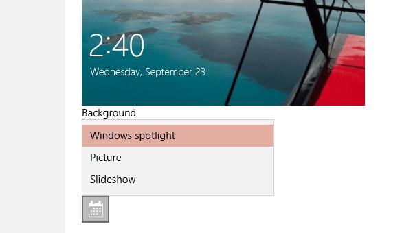 Enable Windows Spotligth