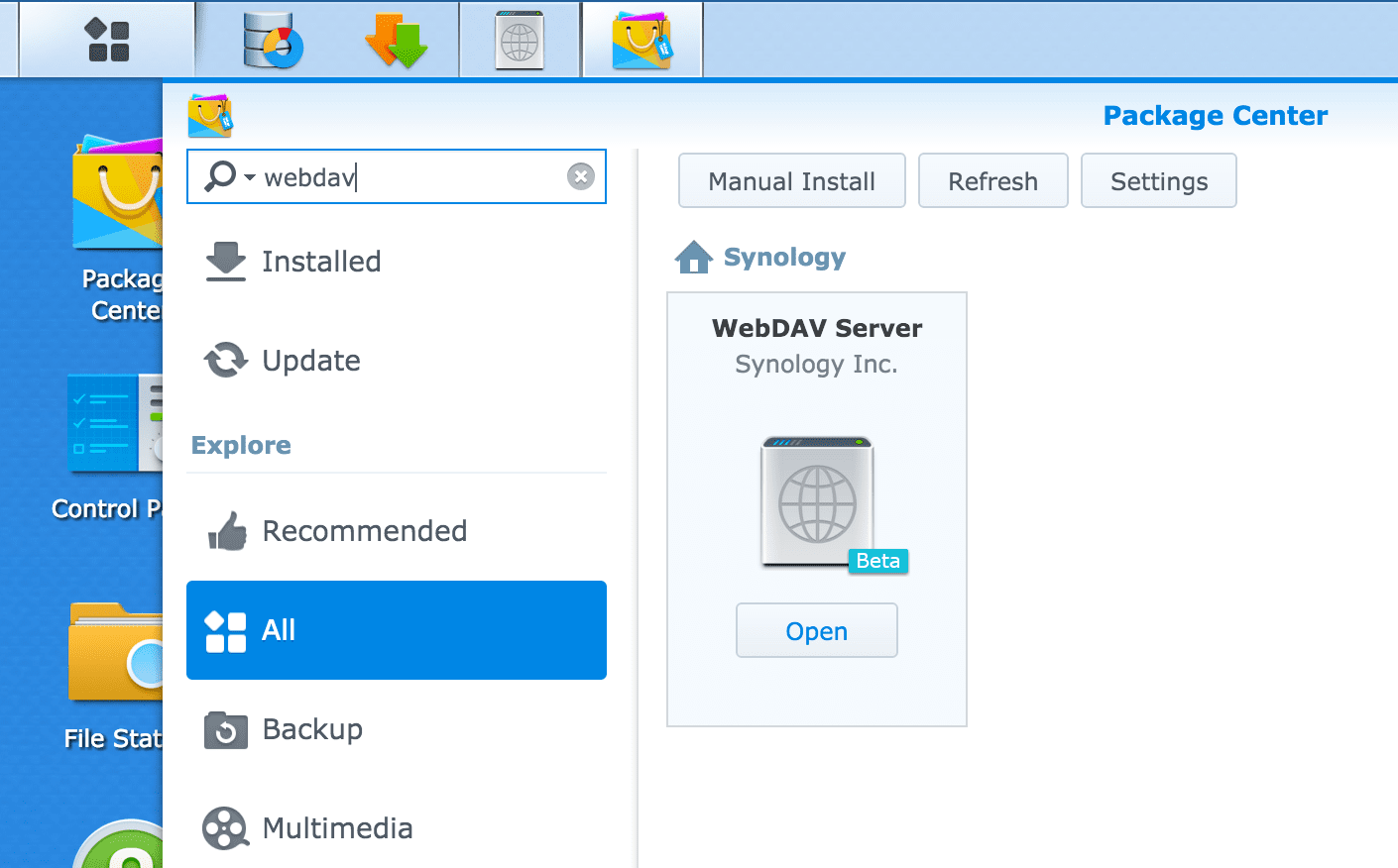 How To Mount Synology Shared Drive Outside Local Network