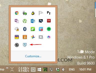 Sophos Home - running icon