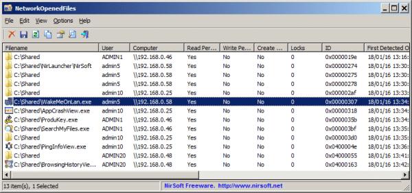 networkopenedfiles