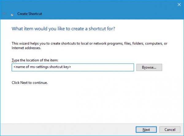 Create Shortcut - 2