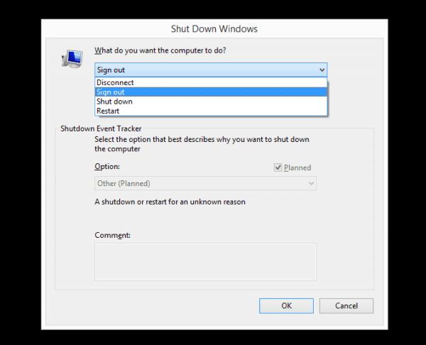 Windows 2012 - shut down windows
