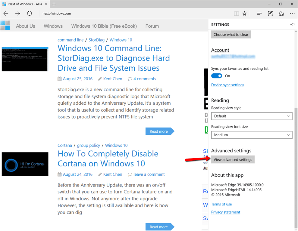 how to find the search button on windows