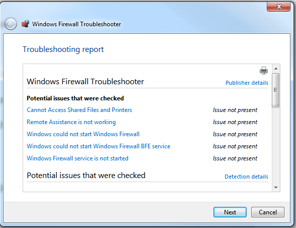 how to fix my firewall settings