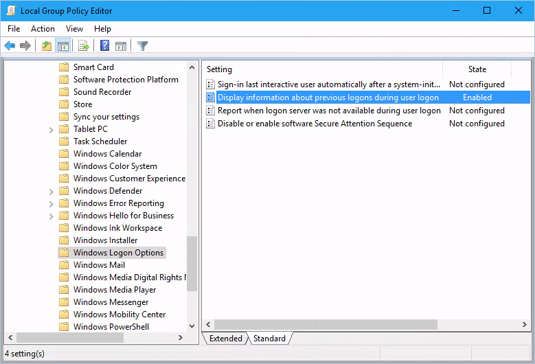 New Windows 10 Group Policies