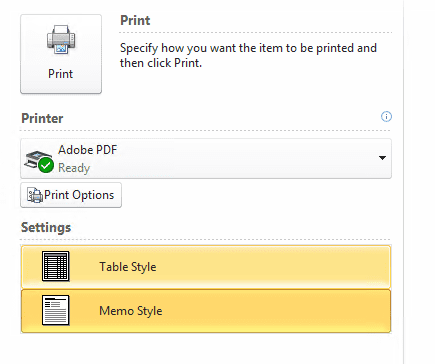 how to add pdf printer in outlook