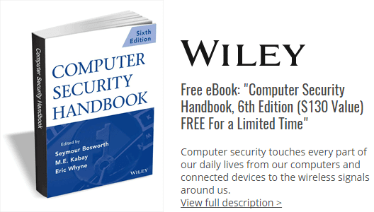 Free eBook: Computer Security Handbook