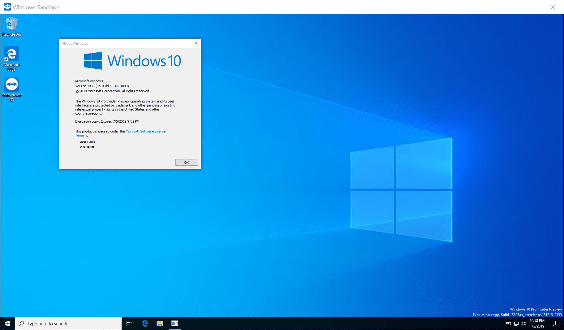 How To Use Windows Sandbox on Windows 10 - Next of Windows